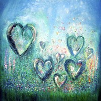 Feel The Love In Each Moment Fine Art Print