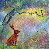 Listen To The Song Of Summer Fine Art Print