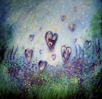 Love Each Moment As The Flowers Love The Sunshine Fine Art Print