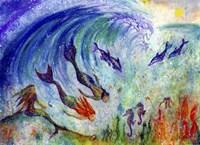 Magical Mermaids Fine Art Print