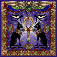 Egyptian Cats Fine Art Print