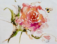 Buzy Pollinating Fine Art Print