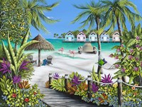 Tropical Escape Fine Art Print