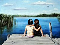 BFF (Best Frends Forever) Fine Art Print