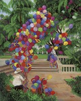 Balloon Men Fine Art Print