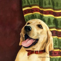 Yellow Labrador Retriever Fine Art Print