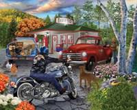 American Roadside Fine Art Print