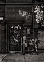 Alleyway Pipes No 4 Fine Art Print