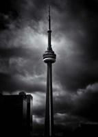 CN Tower Toronto Canada No 6 Fine Art Print