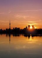 Leslie Street Spit Toronto Canada Sunset Fine Art Print