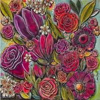 Spanish Flowers 1 Fine Art Print