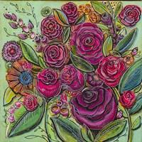 Spanish Flowers 2 Fine Art Print