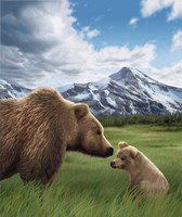 Mother and Cub Fine Art Print