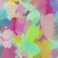 Big Brush Strokes I Framed Print