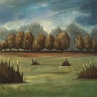 Forest Meets Plains 2 Fine Art Print