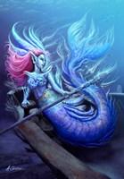 Mermaid Aphrodite Fine Art Print