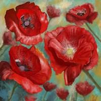 Passionate Poppies 2 Fine Art Print