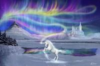 Aurora Unicorn Fine Art Print