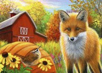 A Fall Friend Fine Art Print