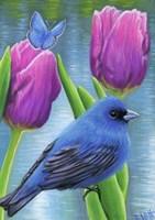 Blue Spring Fine Art Print