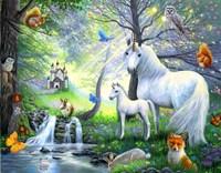 A Spring Fantasy Fine Art Print