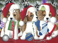 Little Christmas Rascals Fine Art Print
