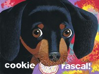 Cookie Rascal Fine Art Print