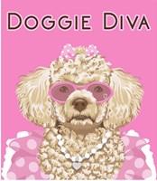 Doggie Diva Fine Art Print