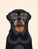 Rottie Tan Fine Art Print