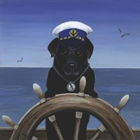 Captian Of Your Ship Fine Art Print