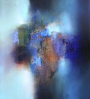 September blue Fine Art Print