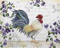Seasonal Rooster 1 Fine Art Print