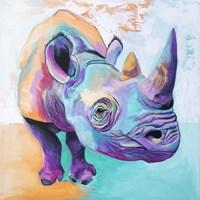 Rhino - Fi Fine Art Print