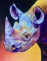 Rhino - Suzi Fine Art Print