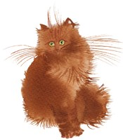 Red Kitten Fine Art Print