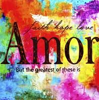 Faith, Hope, Love 1 Fine Art Print