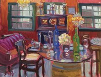 The Red Tasting Room Fine Art Print