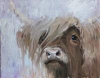 Scottish Highland Cutie Fine Art Print