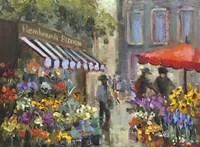 Amsterdam Flower market Fine Art Print