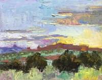 Desert Sunset Fine Art Print