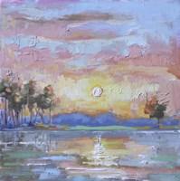 At the River Fine Art Print