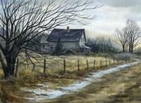 French Pond Road Fine Art Print