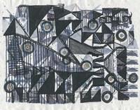 Circles & Triangles Fine Art Print