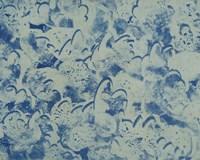 Textures in Blue II Fine Art Print