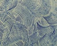 Textures in Blue V Fine Art Print