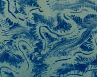 Textures in Blue VII Fine Art Print