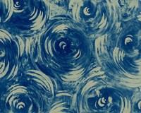 Textures in Blue VIII Fine Art Print
