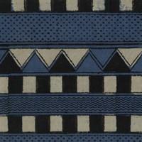 Indigo Geometrics III Fine Art Print