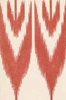 Flame Stitch Motif I Fine Art Print