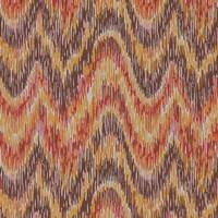 Flame Stitch Motif VI Fine Art Print
